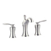 "Avanity FWS1502BN Fontaine 8"" Widespread 2-Handle Bath Faucet in Brushed Nickel finish"