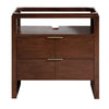"Avanity GISELLE-V33-NW Giselle 33"" Vanity in Natural Walnut"