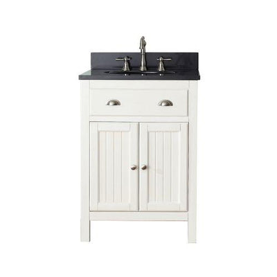 "Avanity HAMILTON-VS24-FW-A Hamilton 24"" Vanity Combo in French White finish"