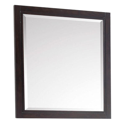 "Avanity HEPBURN-M28-DC Hepburn 28"" Mirror in Dark Chocolate"