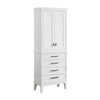 "Avanity MADISON-LT24-WT Madison 24"" Linen Tower in White finish"