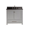 "Avanity MODERO-VS36-CG-A Modero 36"" Vanity Combo in Chilled Gray finish"