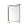 "Avanity NEWPORT-M28-FG Newport 28"" Mirror in French Gray finish"