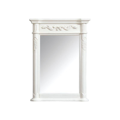 "Avanity PROVENCE-M24-AW Provence 24"" Mirror in Antique White finish"