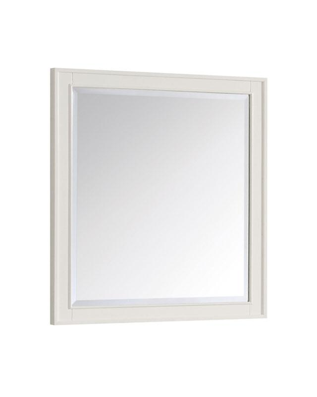 "Azzuri ARLINGTON-M28-WT Arlington 28"" Mirror in White finish"