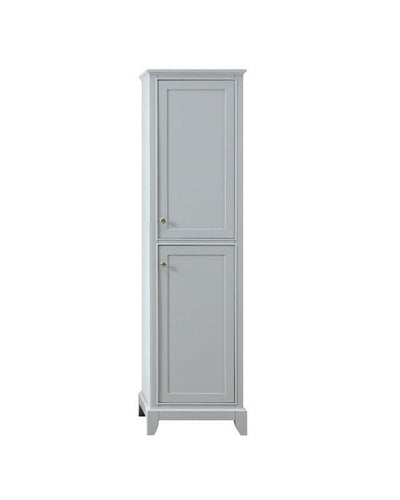 "Azzuri AURORA-LT20-LG Aurora 20"" Linen Tower in Light Gray finish"