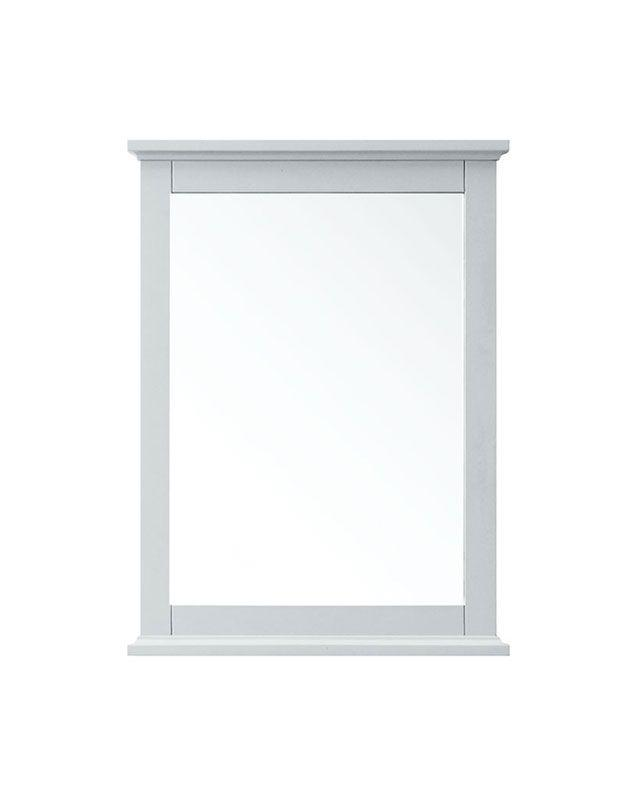 "Azzuri AURORA-M24-LG Aurora 24"" Mirror in Light Gray finish"