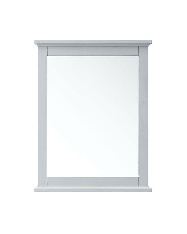 "Azzuri AURORA-M28-LG Aurora 28"" Mirror in Light Gray finish"