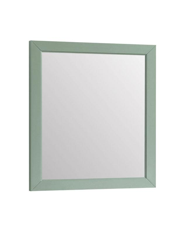 "Azzuri MERCER-M28-SG Mercer 28"" Mirror in Sea Green finish"