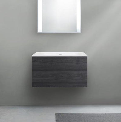 Blu Bathworks F51V1-0700 51 Collection Series 700 Wall-Mount Vanity - HST Fumo