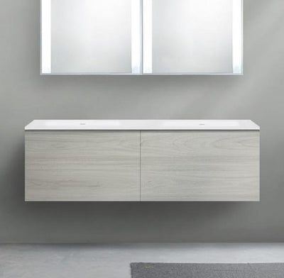 Blu Bathworks F51V1-1400 51 Collection Series 1400 Wall-Mount Vanity - HST Onice