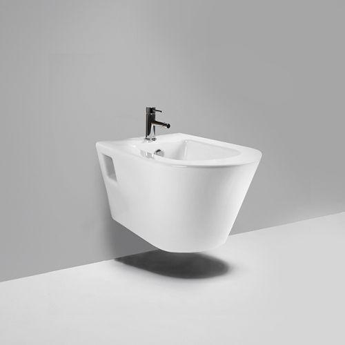 Blu Bathworks LB9030 Coco Single Hole Wall Hung Bidet
