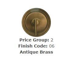 "Brasstech 480X/06 Toilet Supply Kit, 3/8"" IPS Antique Brass"