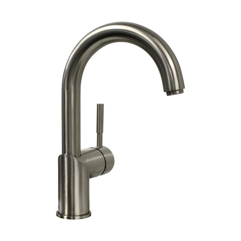 Concinnity 500500-SNI ARUBA Swivel Spout, Single Side Lever, Single Hole Bar Set