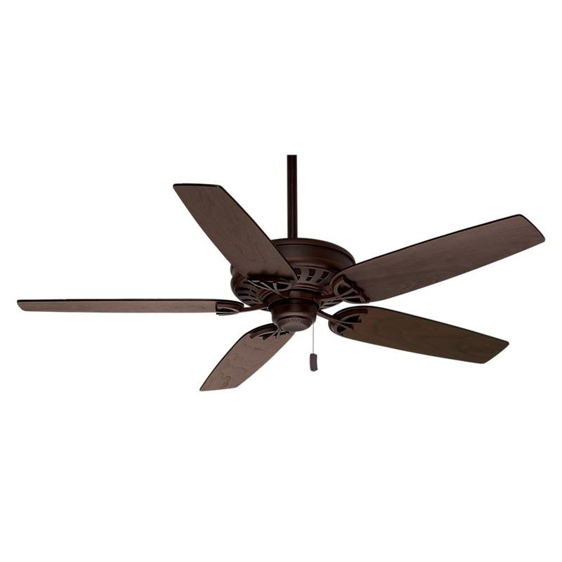 "Casablanca 54020 54"" Concentra Brushed Cocoa Ceiling Fan"