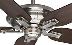 "Casablanca 55019 MOTOR ONLY"" Brescia Control Brushed Nickel Ceiling Fan with Wall Control"