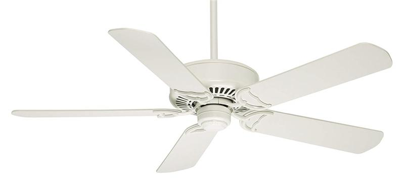 "Casablanca 59510 54"" Panama DC Snow White Ceiling Fan with Handheld Remote"