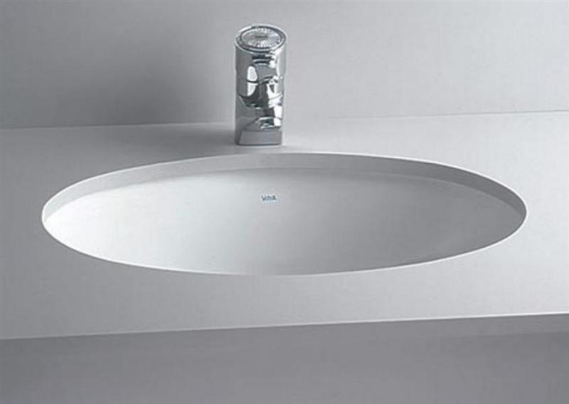 Cheviot 1142-WH Oval Undermount Basin White