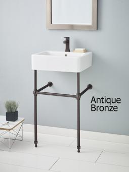Cheviot 575-AB Solid Brass Console Stand Antique Bronze