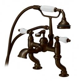 Cheviot 6012-AB Rim Mount Tub Filler w/ Hand Shower Antique Bronze