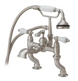 Cheviot 6012-BN Rim Mount Tub Filler w/ Hand Shower Brushed Nickel