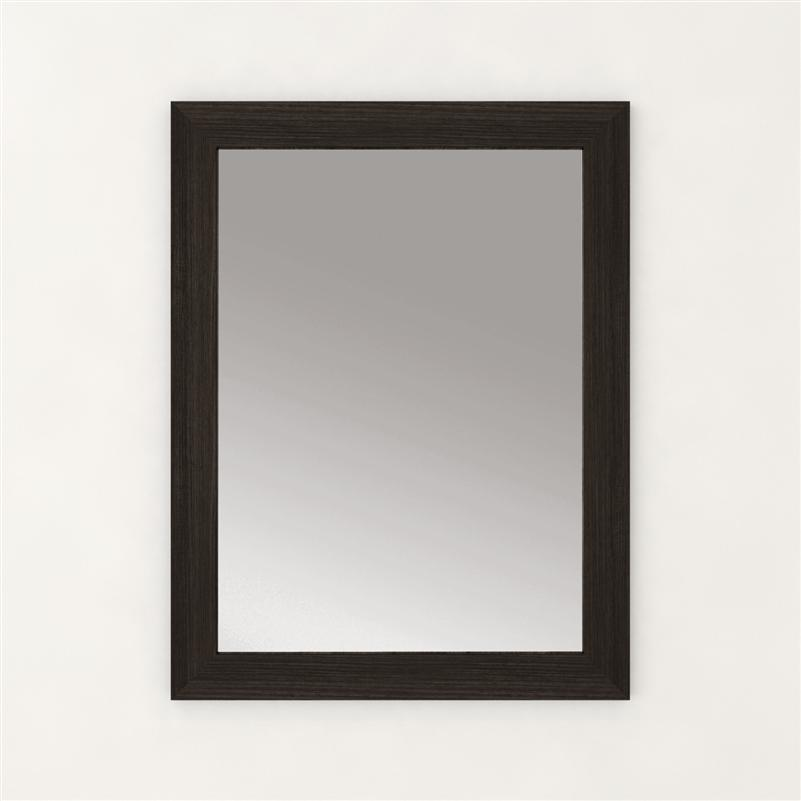 Cutler FV MIRROR 23X30 DCHOC Silhouette Collection Mirror - Dark Chocolate