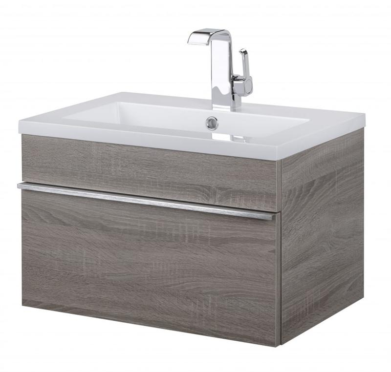 "Cutler FV TR DORATO24 Trough Collection 24"" Wall Mount Modern Bathroom Vanity - Dorato"