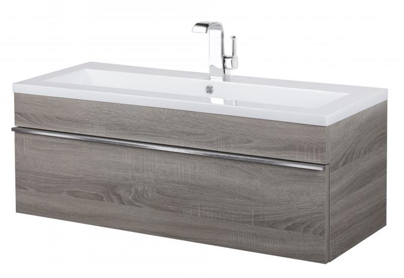 "Cutler FV TR DORATO42 Trough Collection 42"" Wall Mount Modern Bathroom Vanity - Dorato"
