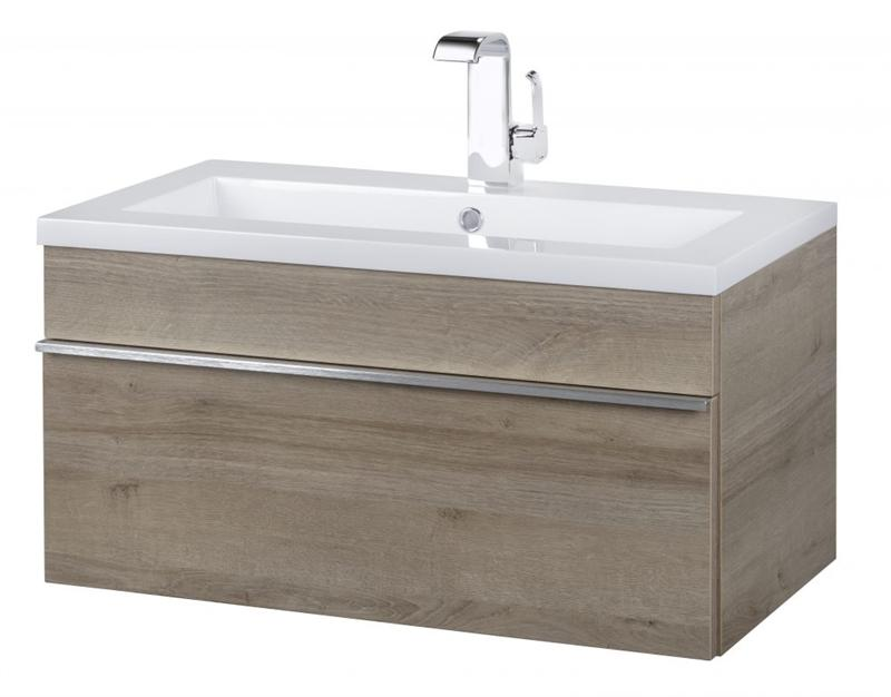 "Cutler FV TR ORGANIC30 Trough Collection 30"" Wall Mount Modern Bathroom Vanity - Organic"