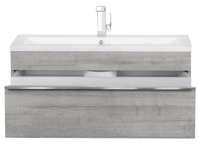 "Cutler FV TR SOHO42 Trough Collection 42"" Wall Mount Modern Bathroom Vanity - Soho"