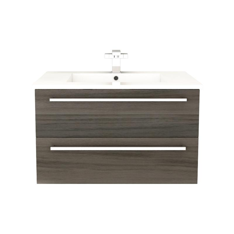 "Cutler FV ZAMBUKKA30 Silhouette Collection 30"" Wall Mount Bathroom Vanity - 2 Drawers With Top, Zambukka"