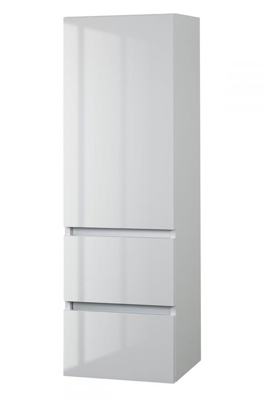 Cutler FVBLANCO15LT Sangallo Gloss Collection Linen Tower - Sunny White Gloss