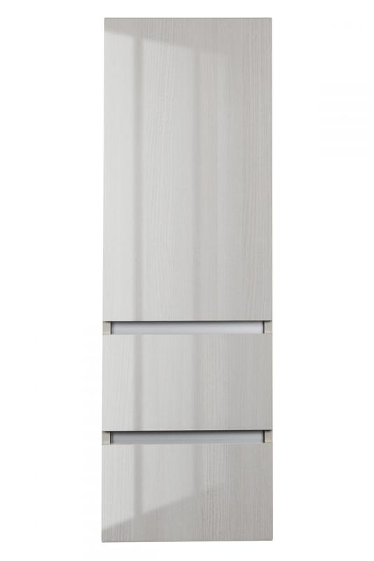 Cutler FVWHITEB15LT Sangallo Gloss Collection Linen Tower - White Birch Gloss