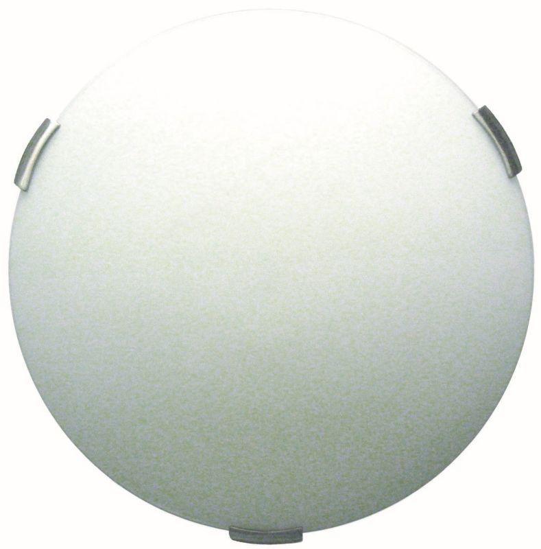 "DVI DVP1442SN Orinoco 16"" Flush Mount Light Fixture Satin Nickel"