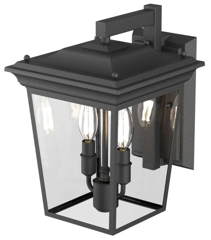 DVI DVP26071HB-CL Forest Hill Wall Sconce Light Fixture Hammered Black