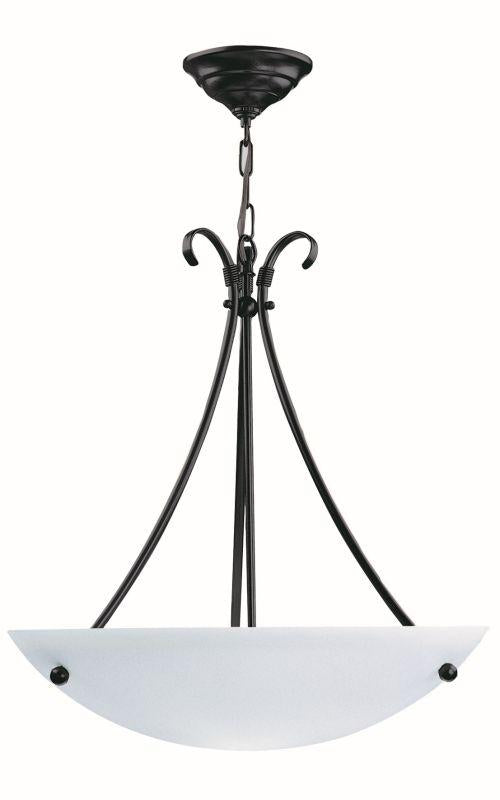 "DVI DVP3203SN Georgian 20"" Pendant Light Fixture Satin Nickel"