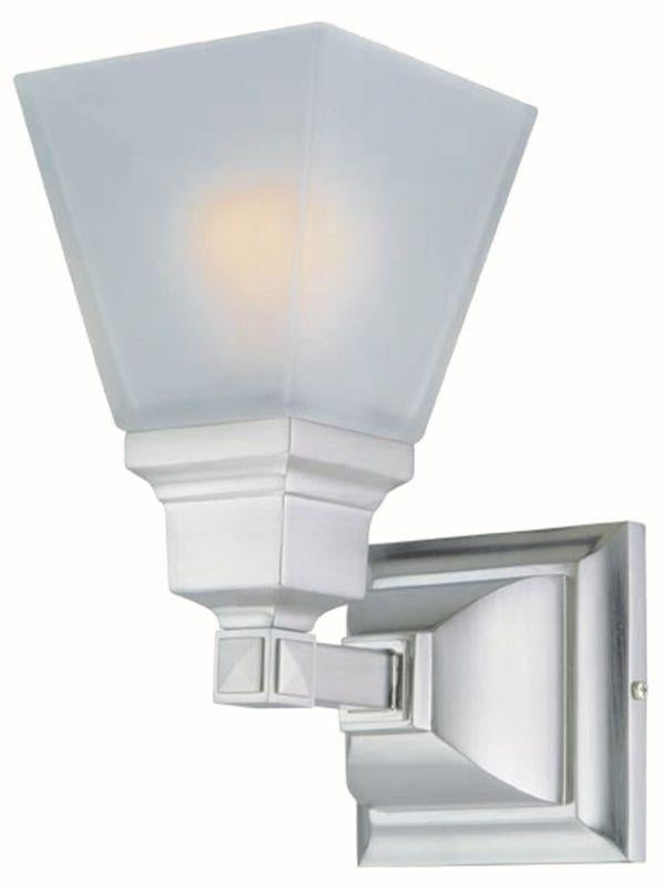 DVI DVP7601SN Aurora Wall Sconce Light Fixture Satin Nickel