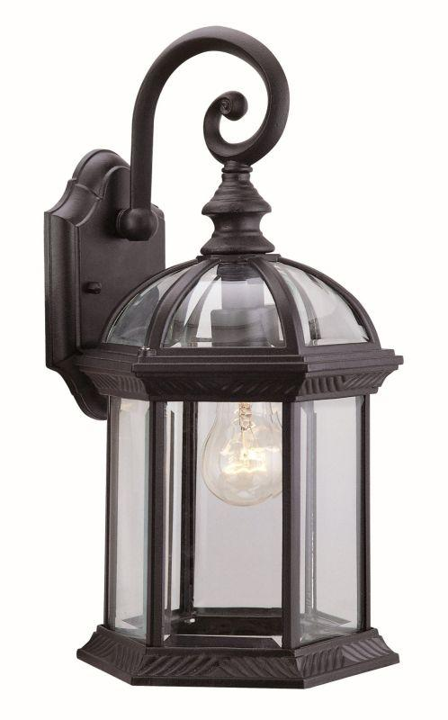 "DVI OCA140800BK Hexagon 15.5"" Outdoor Light Fixture Black"