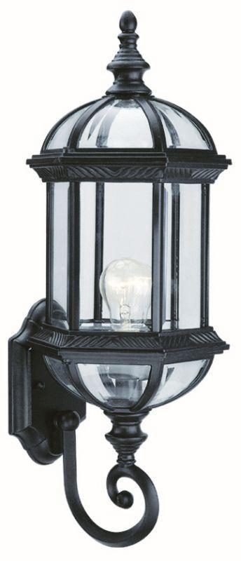 "DVI OCA140801BK Hexagon 21"" Outdoor Light Fixture Black"
