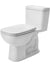 Duravit 0113010001 D-Code One-Piece toilet D-Code white with mech. , siphon jet , elongated