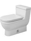 Duravit 2120010001 Starck 3 One-Piece toilet Starck 3 white w.mech. , siphon jet , elongated , HET/GB