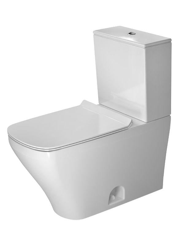 Duravit 2160010000 DuraStyle Two-Piece toilet DuraStyle white siphon jet , elongated , HET--bowl only