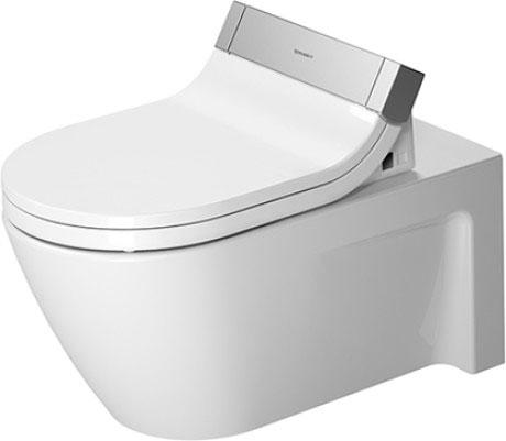 DURAVIT 2533590000 STARCK 2 WALL MOUNTED TOILET - WHITE