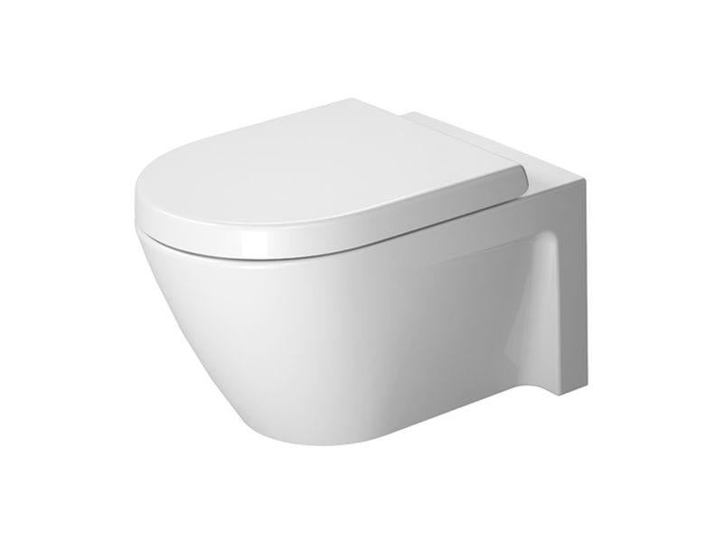 Duravit 2534090092 Starck 2 Toilet wall-mounted 54 cm Starck 2 white , washdown , US-version