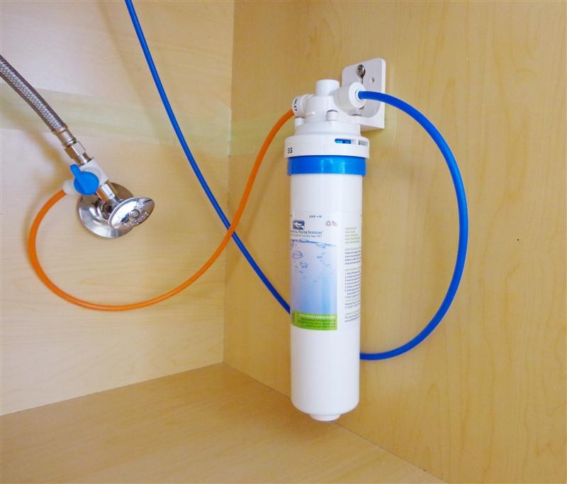 Environmental Water Systems SS-1.0 Essential Series Under-Sink Single Stage Drinking Water Filtration System