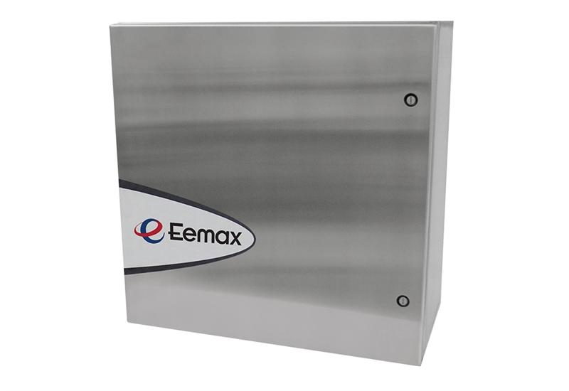 Eemax AP054480 EFD N4 SafeAdvantage 54 kW 480 V Tankless Water Heater for Emergency Shower/Eye Wash combo in NEMA 4 Cabinet