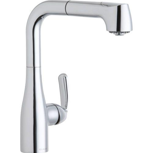 Elkay LKLFGT2042CR Gourmet Low Flow Pull Out Bar Faucet Chrome