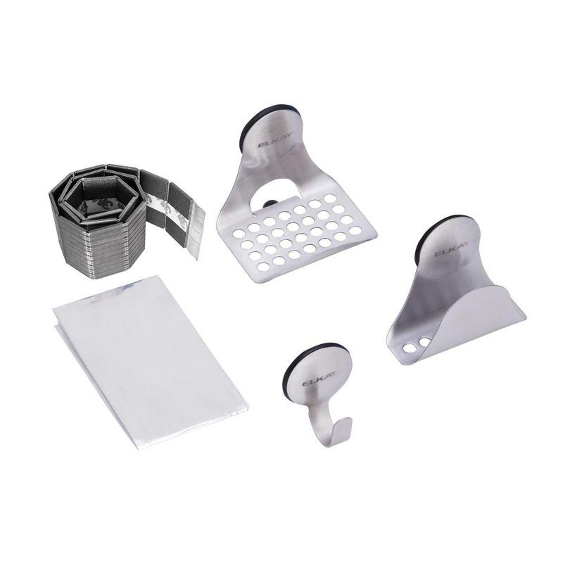 Elkay LKSMHSL Sinkmate Kit with Hook, Sponge Holder and Ledge