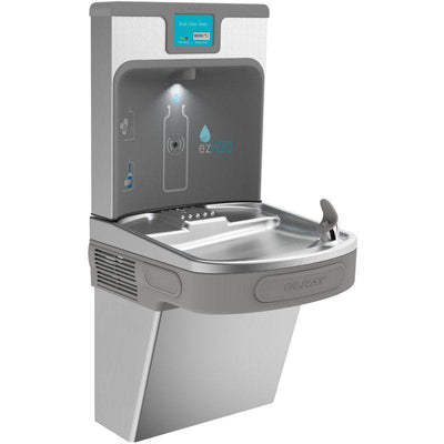Elkay LZS8WSSP Filtered Enhanced EZH2O Bottle Filling Station with Single ADA Cooler-Stainless