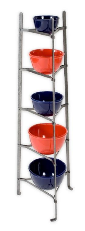 Enclume CWS5KDHS 5-Tier Gourmet Stand Hammered Steel (Unassembled)